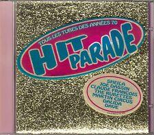 CD ALBUM CLAUDE FRANCOIS SHEILA DALIDA DASSIN RUBETTES DAVE JUVET FUGAIN POPPYS
