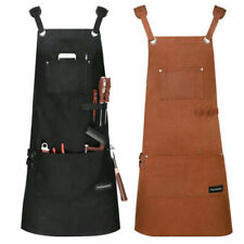 Housolution Heavy Duty Waxed Canvas Waterproof Oil-resistant Tools Work Apron