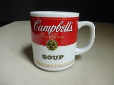 Campbell's Condensed Soup Label Mug Cup Corning Glass Works Porcelain 81 6H