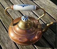 Vintage A.P.K.O. Metalcraft Holland Copper Teapot Brass Kettle theepot teepot