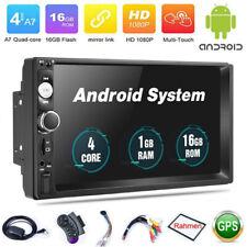 Autoradio Android 8.1 mit  Rahmen GPS Navigation NAVI BLUETOOTH USB Doppel 2DIN