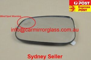 LEFT SIDE MIRROR GLASS FOR JAGUAR XE XF XJ XFR XJ8 XJR XK XKR XKR-S (Blind spot)