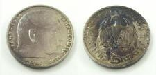 1935 A - German Third Reich 5 Reichsmark .900 Silver Coin - Hindenburg Issue