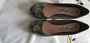 """Ladies """"Marks & Spencers"""" Snakeskin Court Shoes (Size 7.5)"""