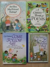GYO FUJIKAWA HC LOT 4~Come Follow Me~A to Z~Child's Book Poems~Are You My Friend