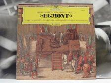 BEETHOVEN - MUSIC TO EGMONT - LP NEAR MINT DGG GUNDULA JANOWITZ VON KARAJAN