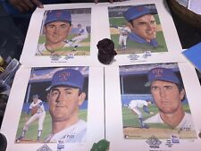 4 NOLAN RYAN LITHOGRAPH AUTOGRAPHED BY SUSAN RINI