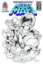 MEGA MAN #9 Villain Sketch Variant