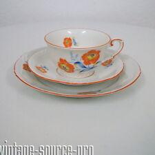 Mitterteich Porzellan Kaffeegedeck Sammelgedeck florales Dekor Art Dèco 30er J.