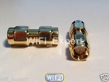 SMA male to SMA male RF Adapter Connector Connect 2 Females USA