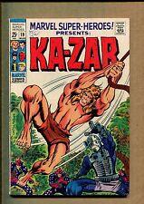 Marvel Super-Heroes #19 - Ka-Zar! Marvel Boy! And More! - 1968 (Grade 6.0) Wh