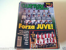 GUERIN SPORTIVO=N.21 (1097) 1996 LXXXIV=JUVENTUS-AJAX ANTEPRIMA FINALE CHAMPIONS