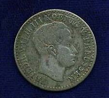 GERMANY  PRUSSIA  1823-A  1/6 THALER SILVER COIN  XF