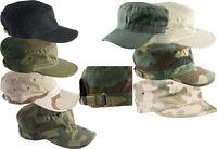 HELIKON BDU PATROL US COMBAT ARMY RIPSTOP BASEBALL FIELD CAP HAT CAMOUFLAGE CAMO