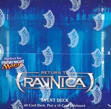 JAPANESE Magic the gathering RETURN TO RAVNICA EVENT DECK BOX 6CT SEALED!!