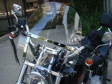 Windshield For Harley Heritage Springer Sportster Dyna Glide Softail FX FL Clear