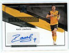 2020-21 Panini Impeccable Stars Auto Raul Jimenez #38/99 Wolverhampton