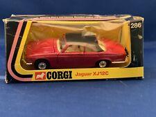Fantastic Corgi 286 Jaguar XJC XJ Coupe Red/Black  Neu OVP MIB Mint.