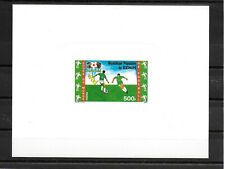 Benin,1986,World Cup,Football,deluxe,MNH
