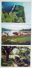 LOT OF 3 VINTAGE UNUSED POST CARDS, ENGLAND **** 3 CARTES POSTALES, ANGLETERRE