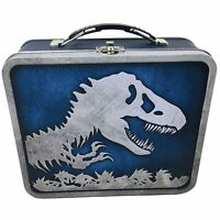 Jurassic World Tin Metal Lunchbox 2015 Collectible