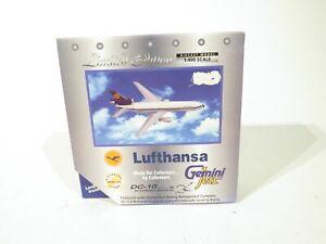 Gemini Jets GJDLH192 Scale 1:400 Lufthansa DC-10 McDonnell Douglas