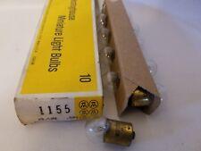 Box of 10 Westinghouse 1155 W 1155X Miniature Automotive Lamps Light Bulbs 13.5V