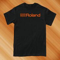 New Roland Synthesizer Logo Men's T shirt Size S-2XL