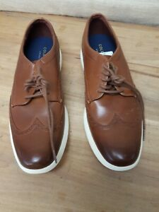 COLE HAAN Grand Tour Wing Ox Woodbury/ Ivory C29414 Men's Dress Shoes Size 10M