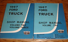 1967 Ford Truck Shop Service Manual Vol 1 2 3 Set 67 Pickup F-100 F-250 F-350