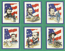 VICTORIA GALLERY - 20  SETS OF L 20  AMERICAN  CIVIL  WAR  LEADERS  CARDS - 1992