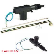 2 Wire 12V Car Central Locking Power Door Lock Actuator Motor Alarms & Security