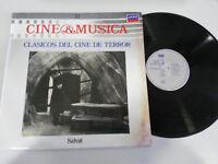 "Big-Size del Cine de Terror Soundtrack LP Vinyl 12 "" 1987 G VG Spanisch Ed"