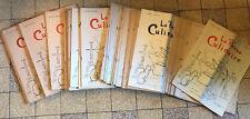 LOT 33 LA REVUE CULINAIRE n°364 à 430 - 1959 à 1965 - CUISINE/GASTRONOMIE/CHEF