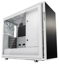 Fractal Design Define R6 White ATX Case, Tempered Glass Window, No PSU