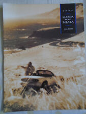 Mazda MX5 Miata Roadster brochure 1994 USA market