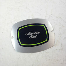 ARCTIC CAT CONSOLE  INSERT PLATE PART NUMBER 0106-513 NOS PART NOT PERFECT
