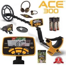Garrett Ace 300 Metal Detector Waterproof Coil, Covers, Headphones 1141150 New