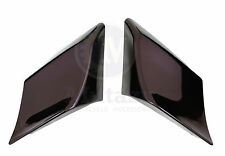 Mutazu Black Cherry Stretch Extended Side Covers For Harley Touring Models