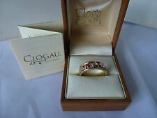 Clogau 9 Carat Yellow Gold Fine Diamond Rings