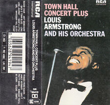 """K 7 AUDIO (TAPE) LOUIS ARMSTRONG  """"TOWN HALL CONCERT PLUS"""""""