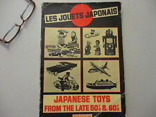 Japanese Toys Vintage Science Fiction Robots Monsters Tin Rare Book 1982