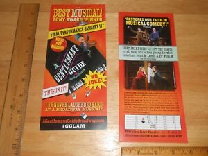 A Gentleman's Guide To Love & Murder FLYER, FINAL PERF. 1/17 THIS IS IT, NO JOKE
