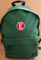 ENGLISH ELECTRIC RUCKSACK BRAND NEW EMBROIDERED BACK PACK BAG BR GREEN