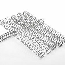 0.3mm-4mm Length 305mm 304 Stainless Steel Spring Compression Pressure Springs