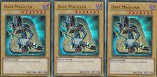 YUGIOH  3 X DARK MAGICIAN  LC01-EN005  - LTD EDITION  ULTRA