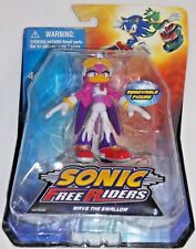 JAZWARES SEGA Video Game SONIC FREE RIDERS WAVE SWALLOW Poseable Action Figure