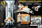 AMT1208 1/200 Moonraker Shuttle w/Boosters James Bond AMT