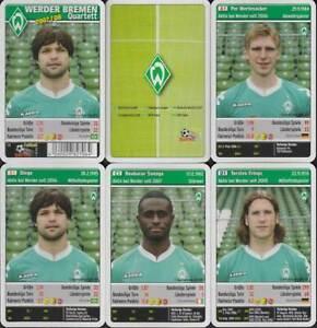 "Teepe Sportverlag ""Werder Bremen"" 2007/08 (S, Quartett-Nr. 827064) Z 0-1"