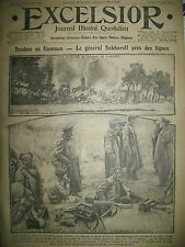 WW1 N° 2104 VOLHYNIE GALICIE DOUBNO Gal RUSSE SAKHAROFF JOURNAL EXCELSIOR 1916